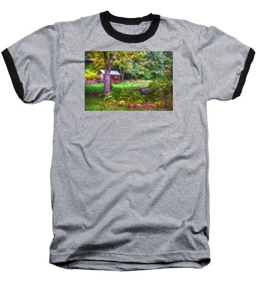 Falling Into Autumn Baseball T-Shirt