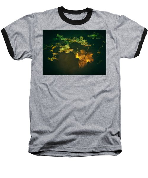 Falling Leaf  Baseball T-Shirt