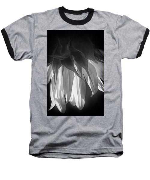 Falling Monochrome  Baseball T-Shirt
