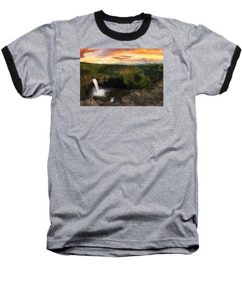 Falling Baseball T-Shirt by Ryan Manuel