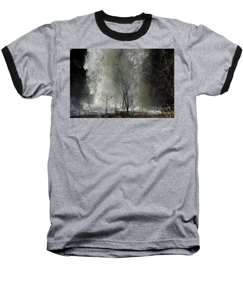 Baseball T-Shirt featuring the photograph Falling Waters by Vicki Pelham