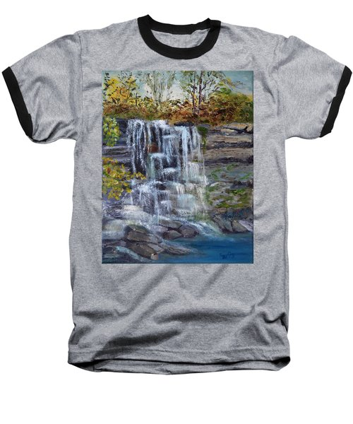 Falls At Rock Glen Baseball T-Shirt