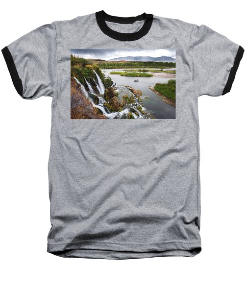 Falls Creak Falls And Snake River Baseball T-Shirt