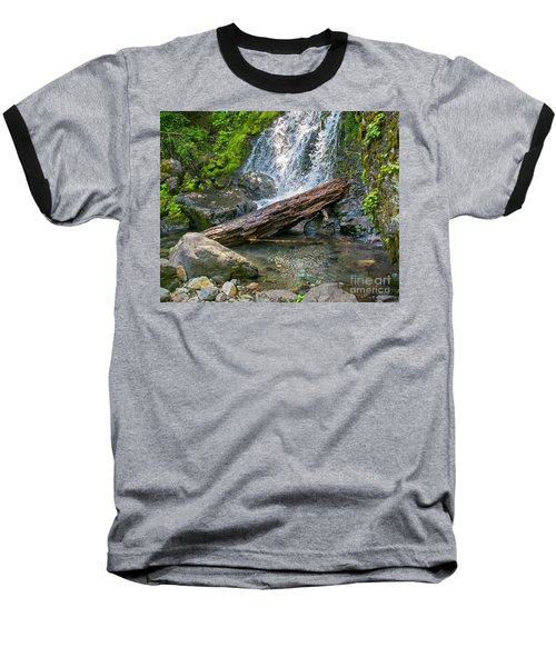Falls Creek 0742 Baseball T-Shirt by Chuck Flewelling