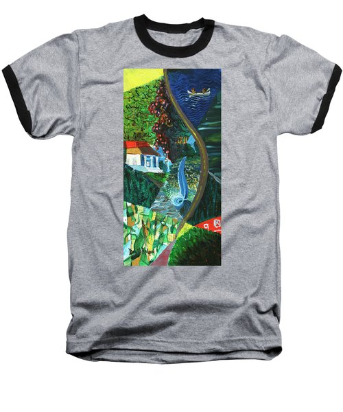 Falls, Fingers And Gorges Baseball T-Shirt
