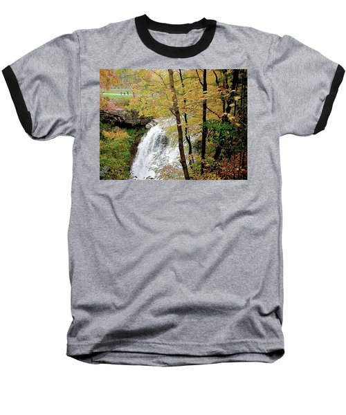 Falls In Autumn Baseball T-Shirt