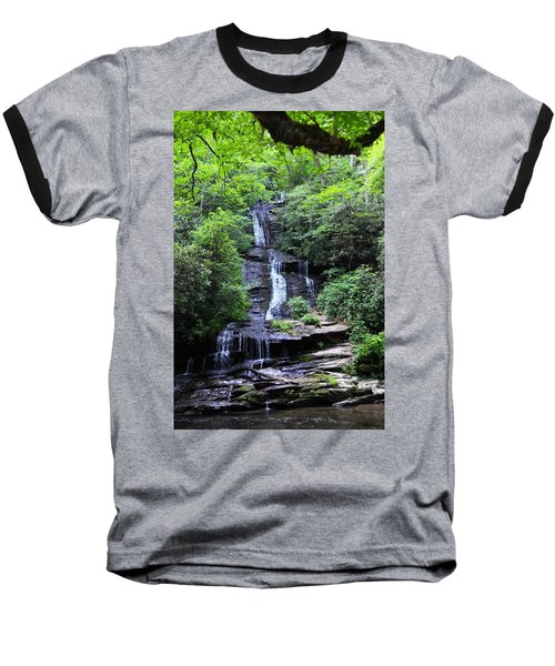 Falls Near Bryson City Baseball T-Shirt