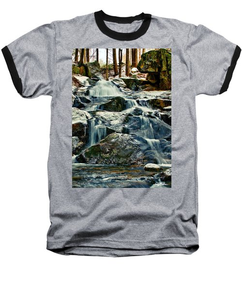 Falls Of Fogg Brook Baseball T-Shirt