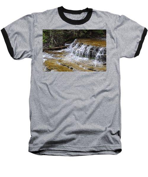 Falls Of The Au Train Baseball T-Shirt