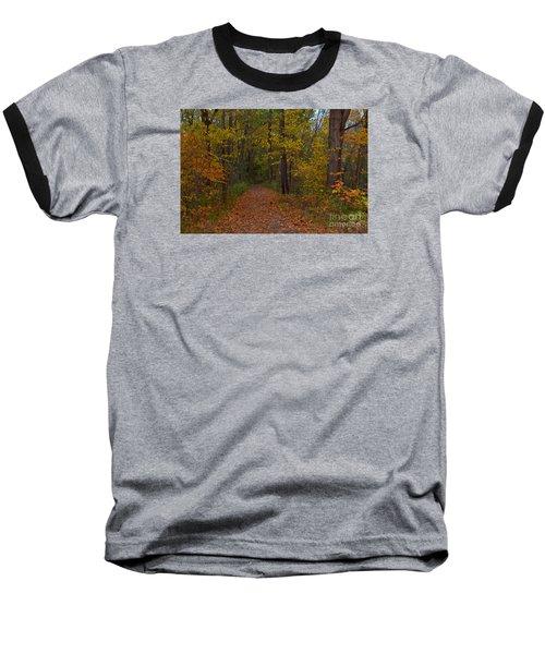 Falls Park Woods In Pendleton Baseball T-Shirt