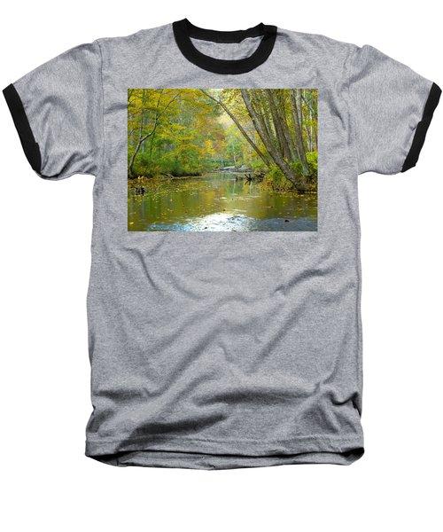 Falls Road Bridge Over The Gunpowder Falls Baseball T-Shirt by Donald C Morgan