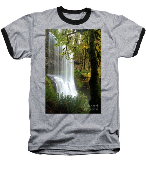 Falls Though The Trees Baseball T-Shirt