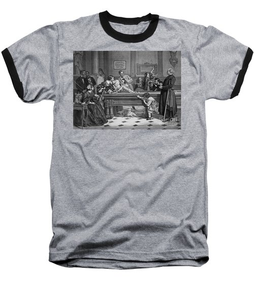 Family Billiards 1891 Baseball T-Shirt by Padre Art