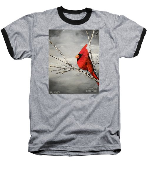 Baseball T-Shirt featuring the painting Family Man by Chad Berglund
