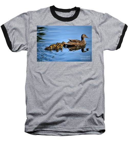 Family Swim Baseball T-Shirt