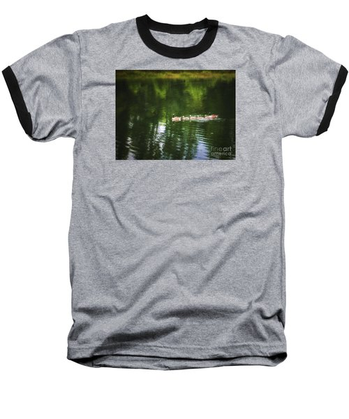 Baseball T-Shirt featuring the photograph Family Values  ... by Chuck Caramella