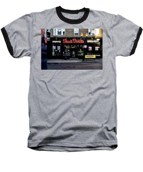 Famous Chicago Donut Shop Baseball T-Shirt