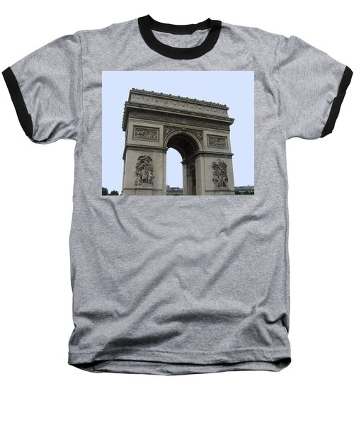 Famous Gate Of Paris - Arc De France Baseball T-Shirt