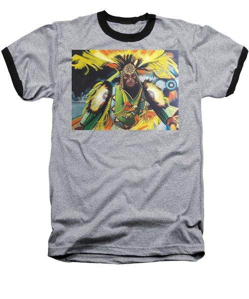 Fancy Dancer Baseball T-Shirt
