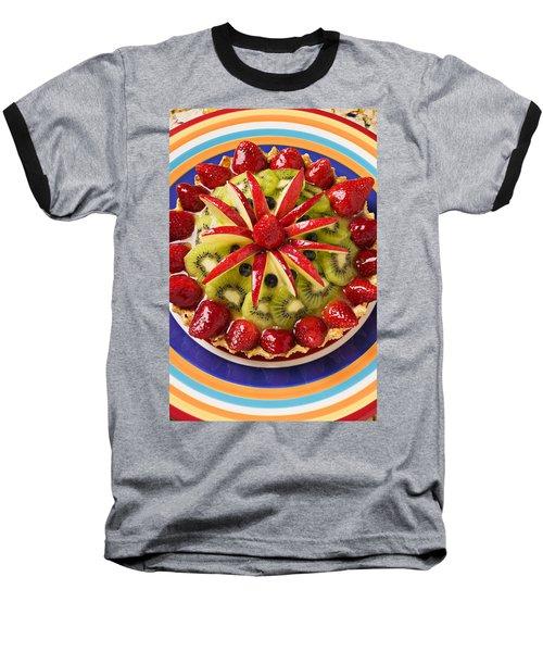 Fancy Tart Pie Baseball T-Shirt by Garry Gay