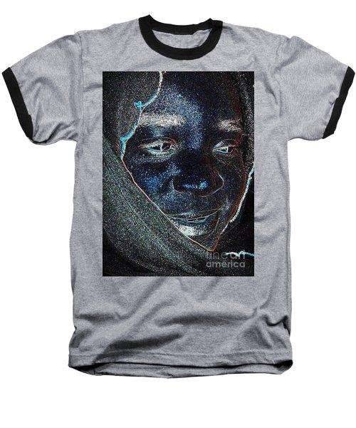 Fania Black Baseball T-Shirt by Fania Simon