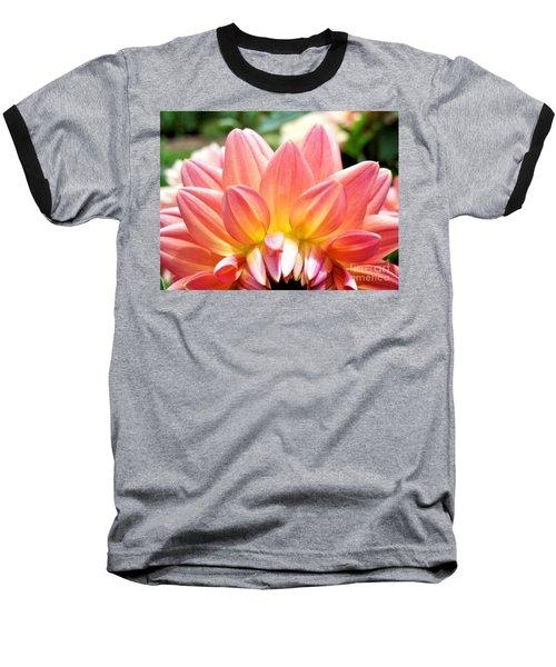 Fanned Out Petals Baseball T-Shirt