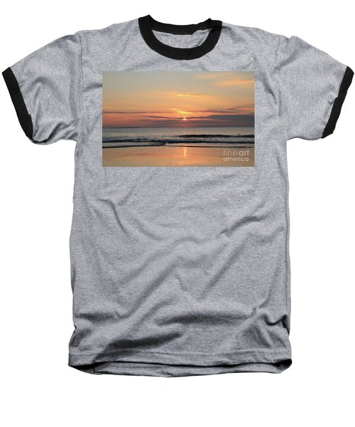 Fanore Sunset 3 Baseball T-Shirt