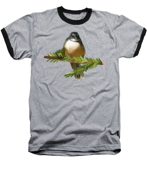 Baseball T-Shirt featuring the painting Fantail  by Ivana Westin