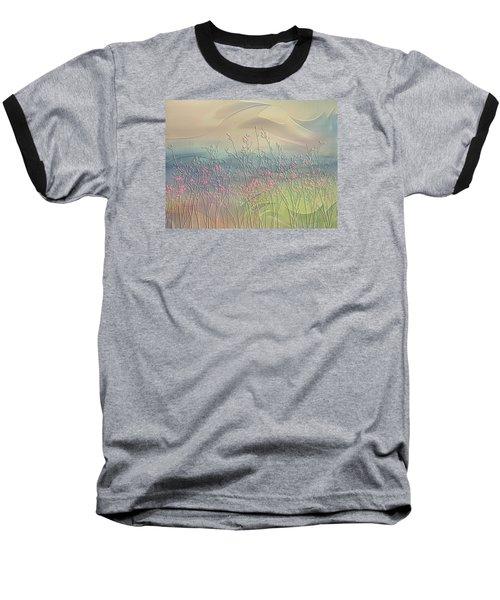 Fantasy Fields Baseball T-Shirt by Nina Bradica