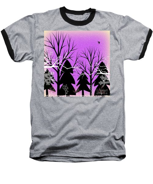Fantasy Forest Baseball T-Shirt