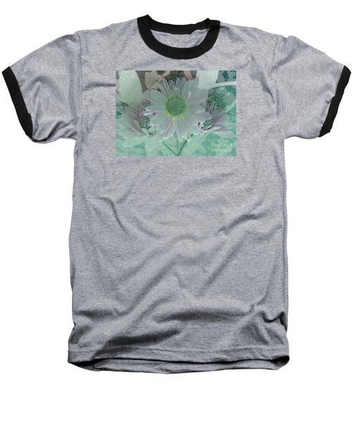 Fantasy Garden Baseball T-Shirt by Barbie Corbett-Newmin