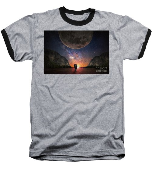 Fantasy Hike Baseball T-Shirt