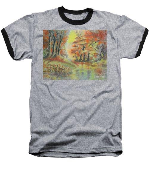 Fantasy Landscape Baseball T-Shirt