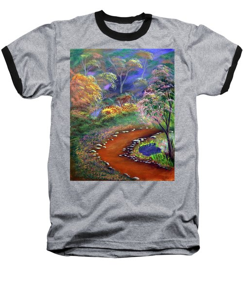 Fantasy Path Baseball T-Shirt