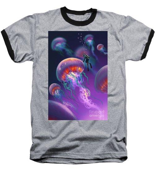 Fantasy Underworld Baseball T-Shirt