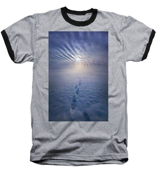 Baseball T-Shirt featuring the photograph Far And Away by Phil Koch
