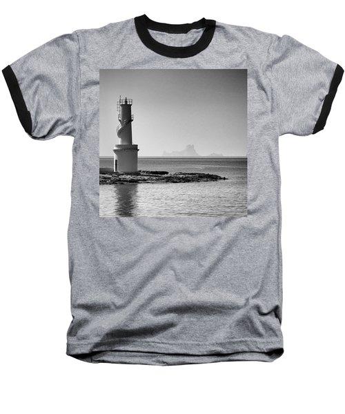 Far De La Savina Lighthouse, Formentera Baseball T-Shirt