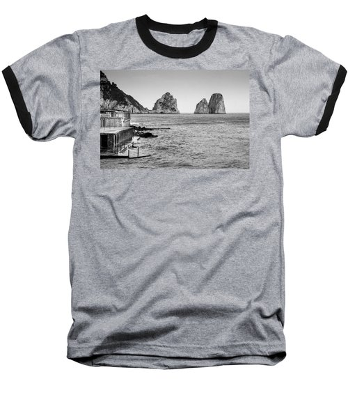 Faraglioni Baseball T-Shirt by Silvia Bruno
