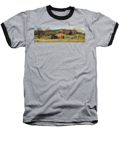 Farm Country Baseball T-Shirt by Bonnie Mason