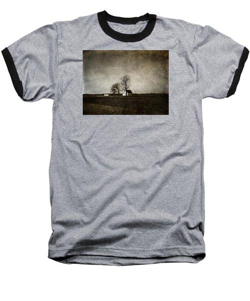 Farm Baseball T-Shirt by Cynthia Lassiter