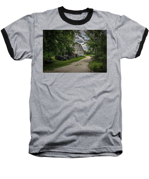 Baseball T-Shirt featuring the photograph Farm Drive by Ray Congrove
