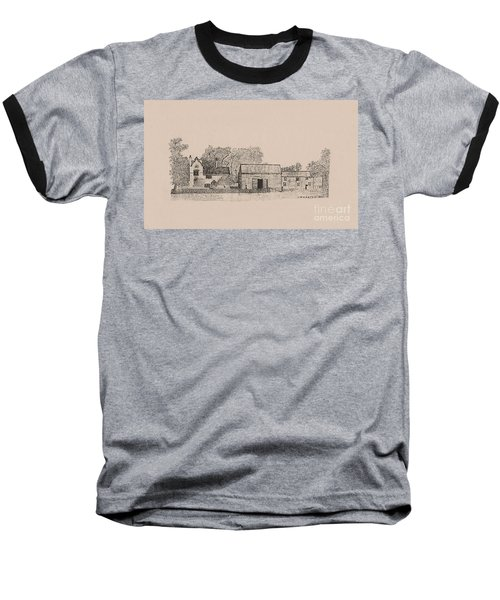 Farm Dwellings Baseball T-Shirt