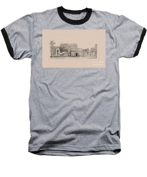 Farm Dwellings Baseball T-Shirt