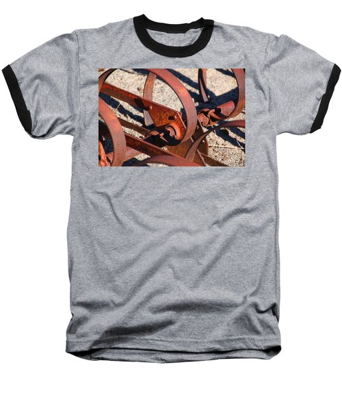 Baseball T-Shirt featuring the photograph Farm Equipment 4 by Ely Arsha