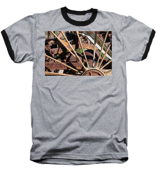 Baseball T-Shirt featuring the photograph Farm Equipment 5 by Ely Arsha