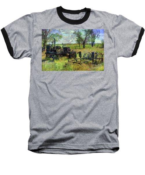 Farm Equipment Baseball T-Shirt