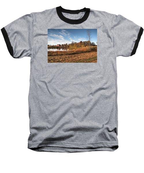 Farm Fall Colors Baseball T-Shirt