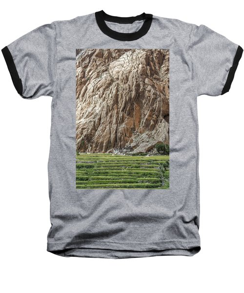 Farm House Baseball T-Shirt by Hitendra SINKAR