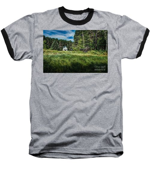 Farm In The Woods Baseball T-Shirt