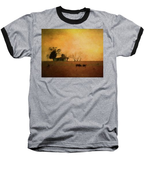 Farm Life Baseball T-Shirt